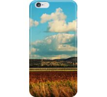 Layers fields iPhone Case/Skin
