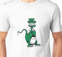Dragon evil mythical beast funny cool comic Unisex T-Shirt