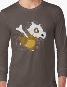 Cubone Splatter Long Sleeve T-Shirt