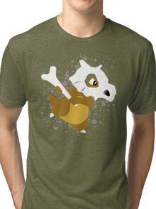 Cubone Splatter Tri-blend T-Shirt