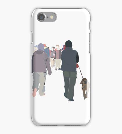 usual walks iPhone Case/Skin