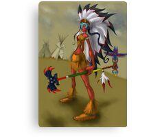 Indian Sorceress Canvas Print