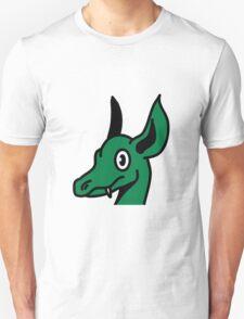 Dragon baby cute head comic book design Unisex T-Shirt