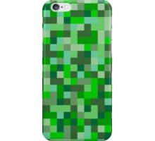 Pixels - Green iPhone Case/Skin