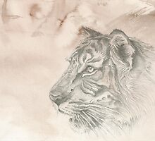 Chinese Zodiac - The Tiger by Kirsten Glenwright