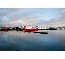 Reykjavik harbour Photographic Print
