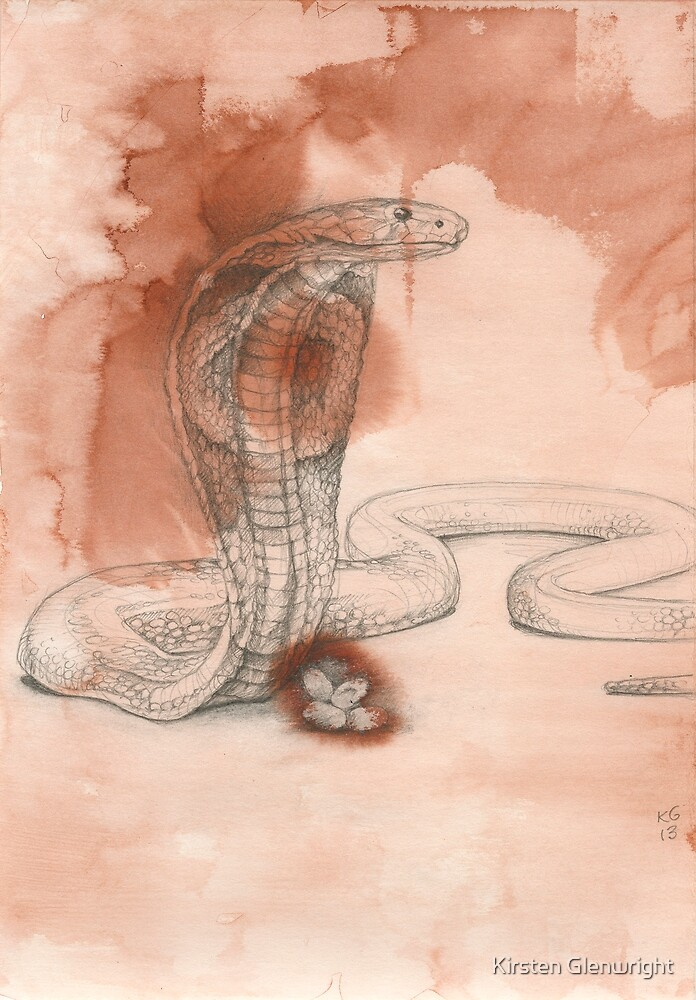 Chinese Zodiac - The Snake by Kirsten Glenwright
