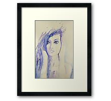 My Past Called Today Framed Print