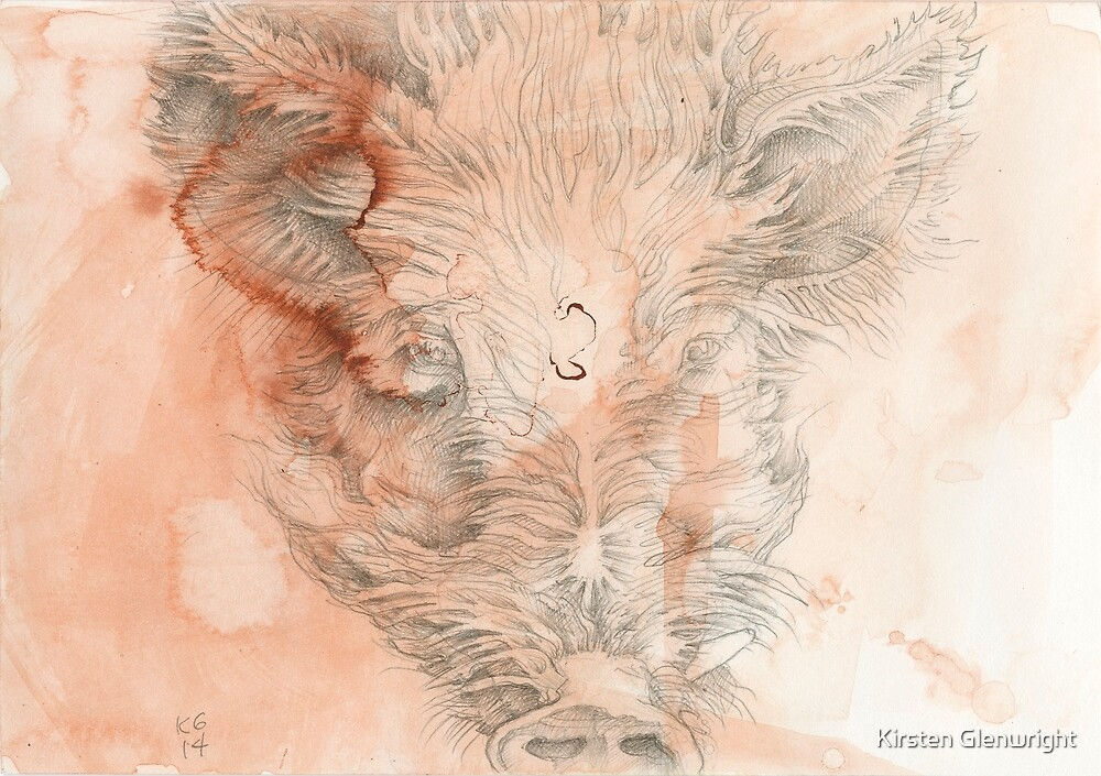 Chinese Zodiac - The Pig by Kirsten Glenwright