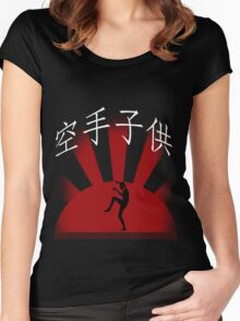 Karate Kid Women's Fitted Scoop T-Shirt