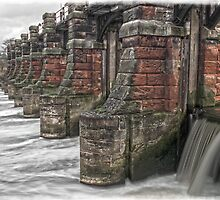 The Sluice on the Weaver by DavidWHughes