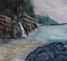 The West Coast (Vancouver Island) by Cal Kimola Brown
