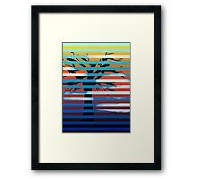 Night / Day Framed Print
