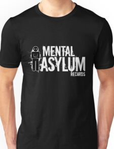 Mental Asylum White Logo T-Shirt