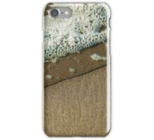 Water Over Sand iPhone Case/Skin