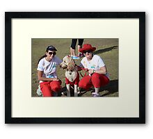 Melanoma March Brisbane 2014 #3 Framed Print