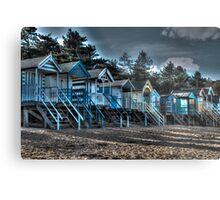 Beach scene.  Metal Print