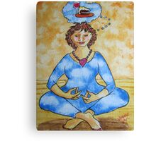 Peace of Mind, Piece of Cake Canvas Print