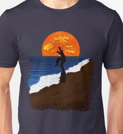 Karate Beach Unisex T-Shirt