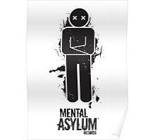 Mental Asylum Posters, Cards & Pillows Poster