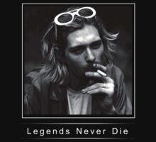 Legends never die: Kurt Cobain by Somedude