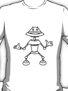 Robot funny cool toys funny comic T-Shirt
