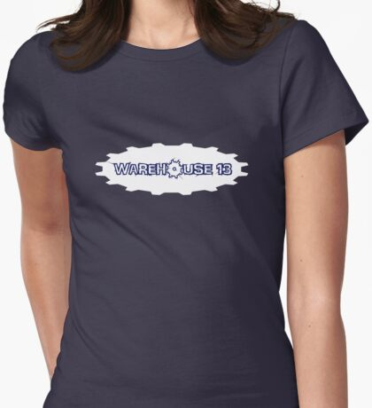 Warehouse 13 - Gear Logo Womens Fitted T-Shirt