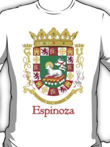 Espinoza Shield of Puerto Rico T-Shirt