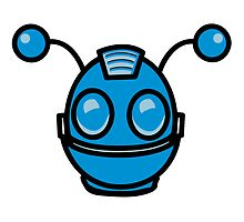 Robot funny cool toys fun antennas by Motiv-Lady