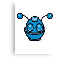Robot funny cool toys fun antennas Canvas Print