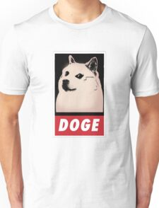 DOGE OBEY-style Unisex T-Shirt