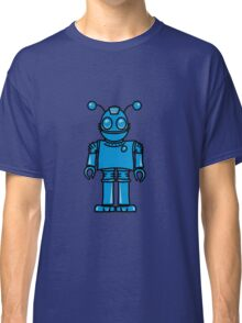 Funny cool robot toy fun Classic T-Shirt