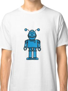 Funny cool robot toy fun Classic T-Shirt