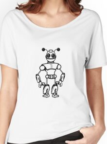 Funny cool robot toy fun Women's Relaxed Fit T-Shirt