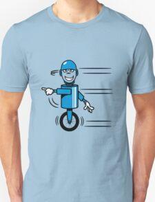 Funny cool fast funny goofy robot comic Unisex T-Shirt