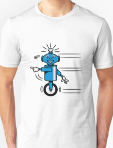 Robot funny cool fast funny dick comic Unisex T-Shirt