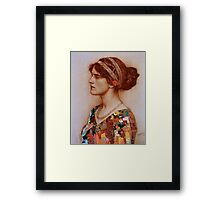 Where did all my color go? Framed Print