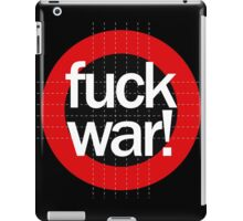 Fuck War iPad Case/Skin