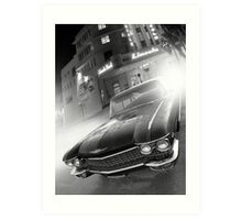 Cadillac at the Lincoln Art Print
