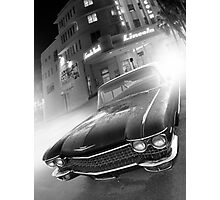 Cadillac at the Lincoln Photographic Print