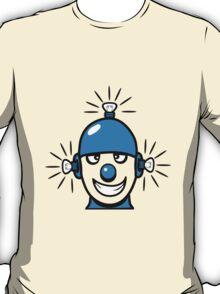 Funny cool wheels pears comic funny robot T-Shirt