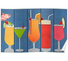Fruit Drinks Poster