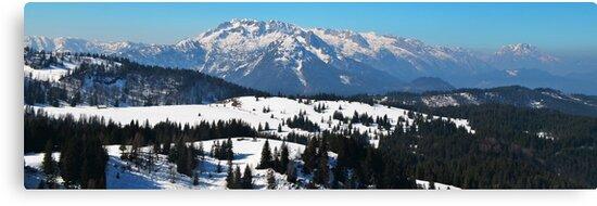 Panorama of Austrian Alps by ak4e