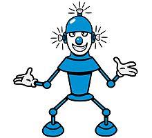 Robot funny cool light up comic fun by Motiv-Lady