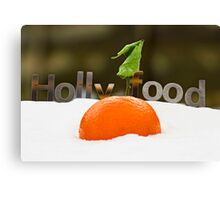 Holly Food Canvas Print