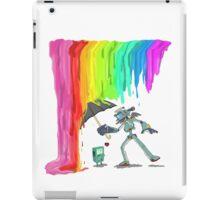Robo Rainbow Respite iPad Case/Skin