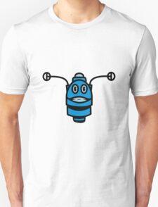 Funny cool robot head funny comic Unisex T-Shirt