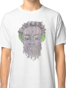 True Detective - 'Green Eared Spaghetti Monster' Classic T-Shirt