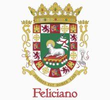 Feliciano Shield of Puerto Rico by William Martin