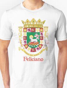 Feliciano Shield of Puerto Rico T-Shirt